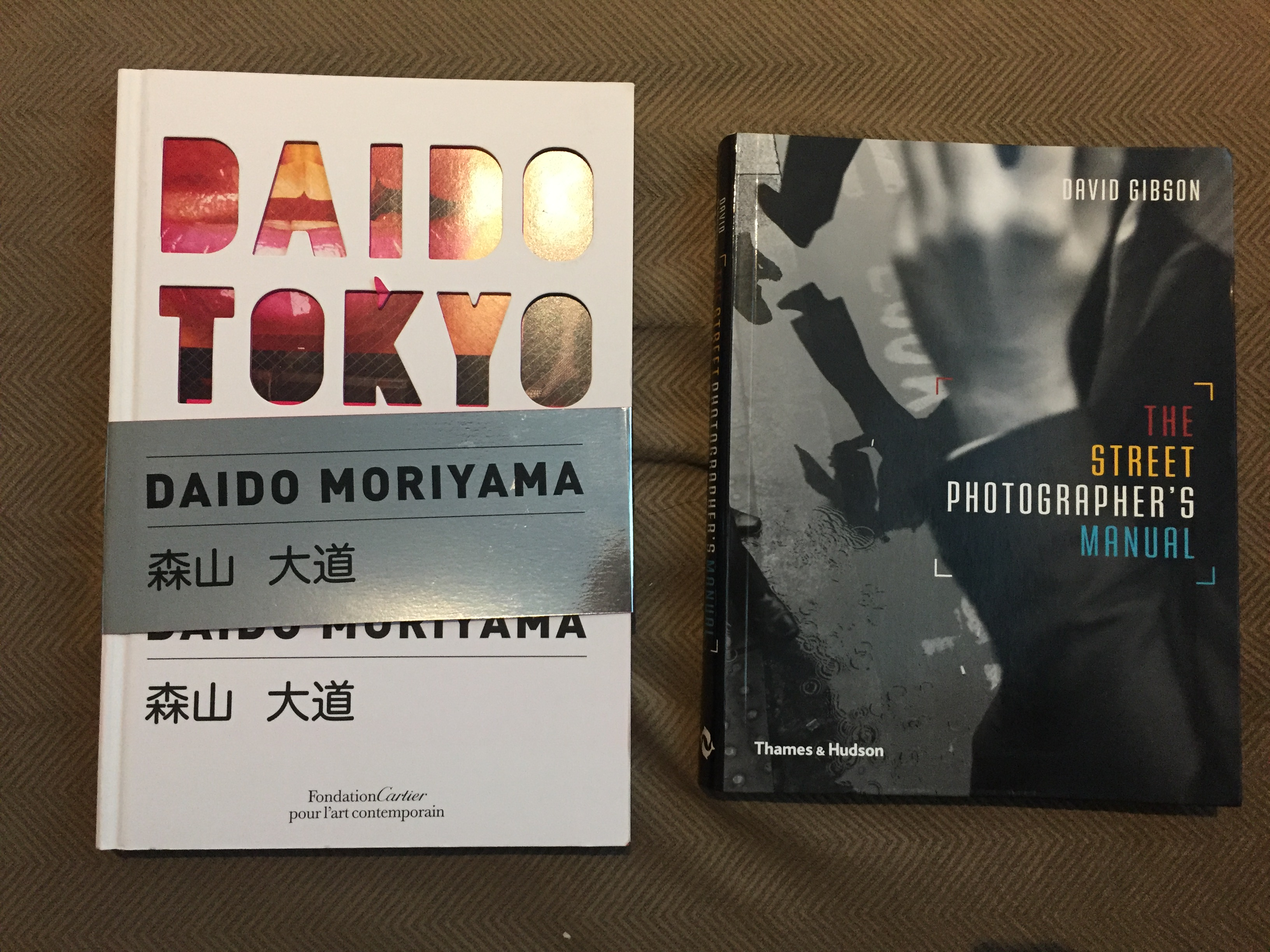Tokyo by Moriyama and Street Photographer's Manual by Gibson