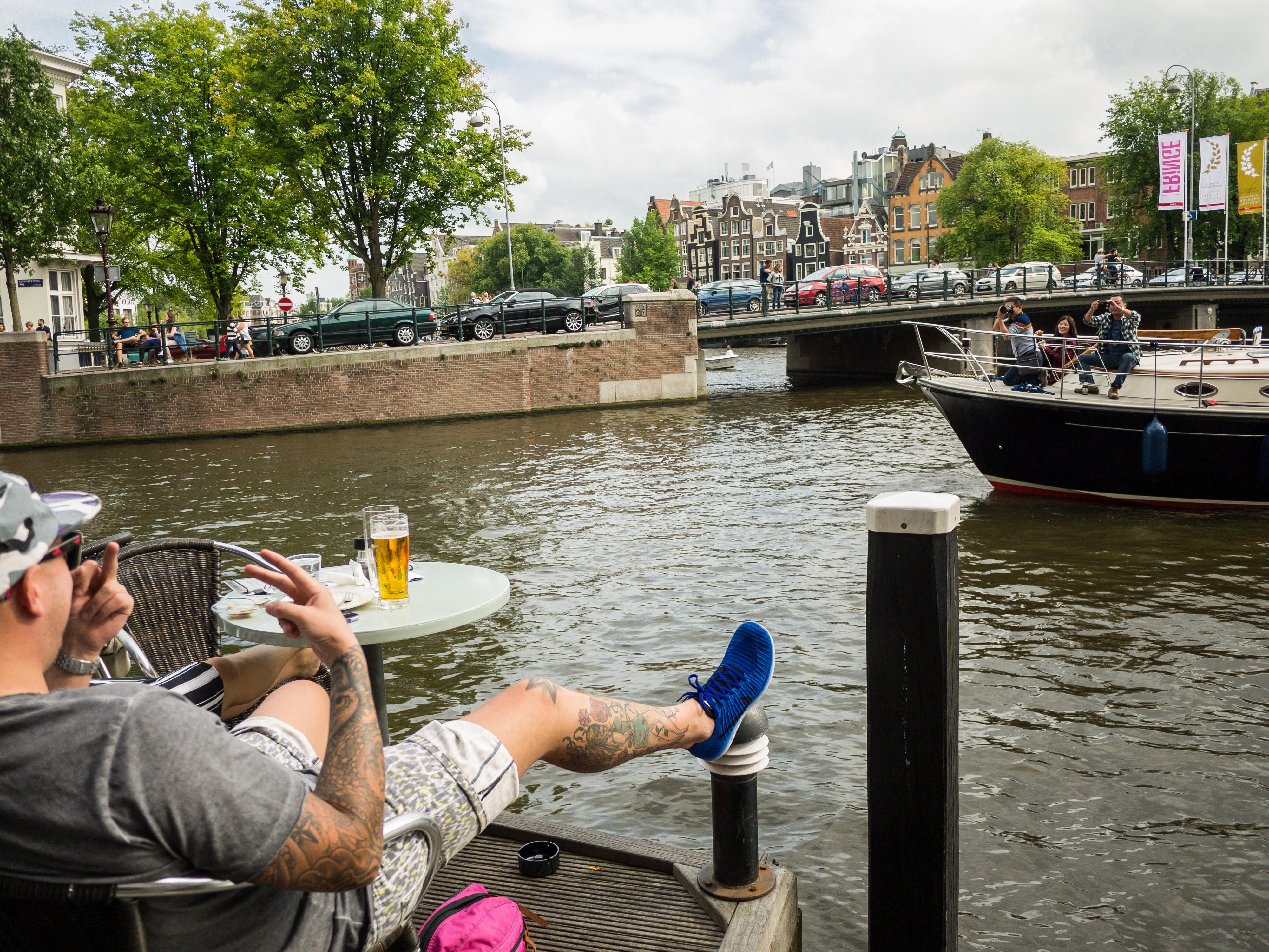 Tourists, Amsterdam