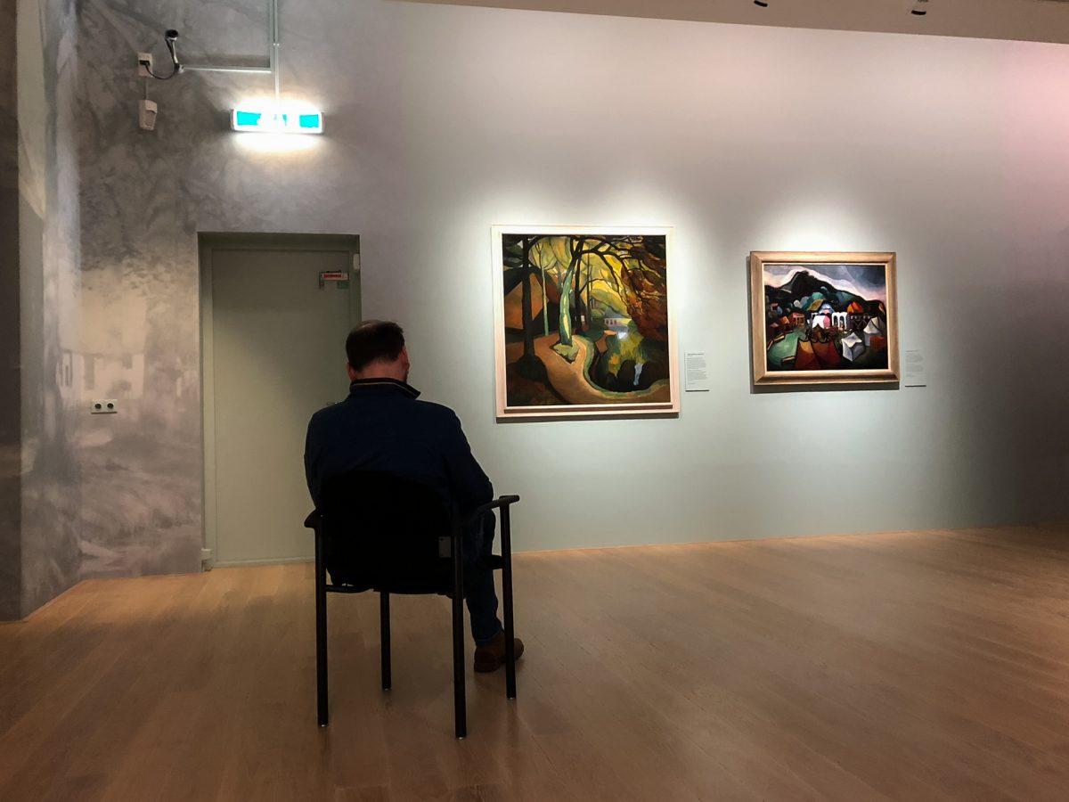 Art lover, Stedelijk Museum, Alkmaar