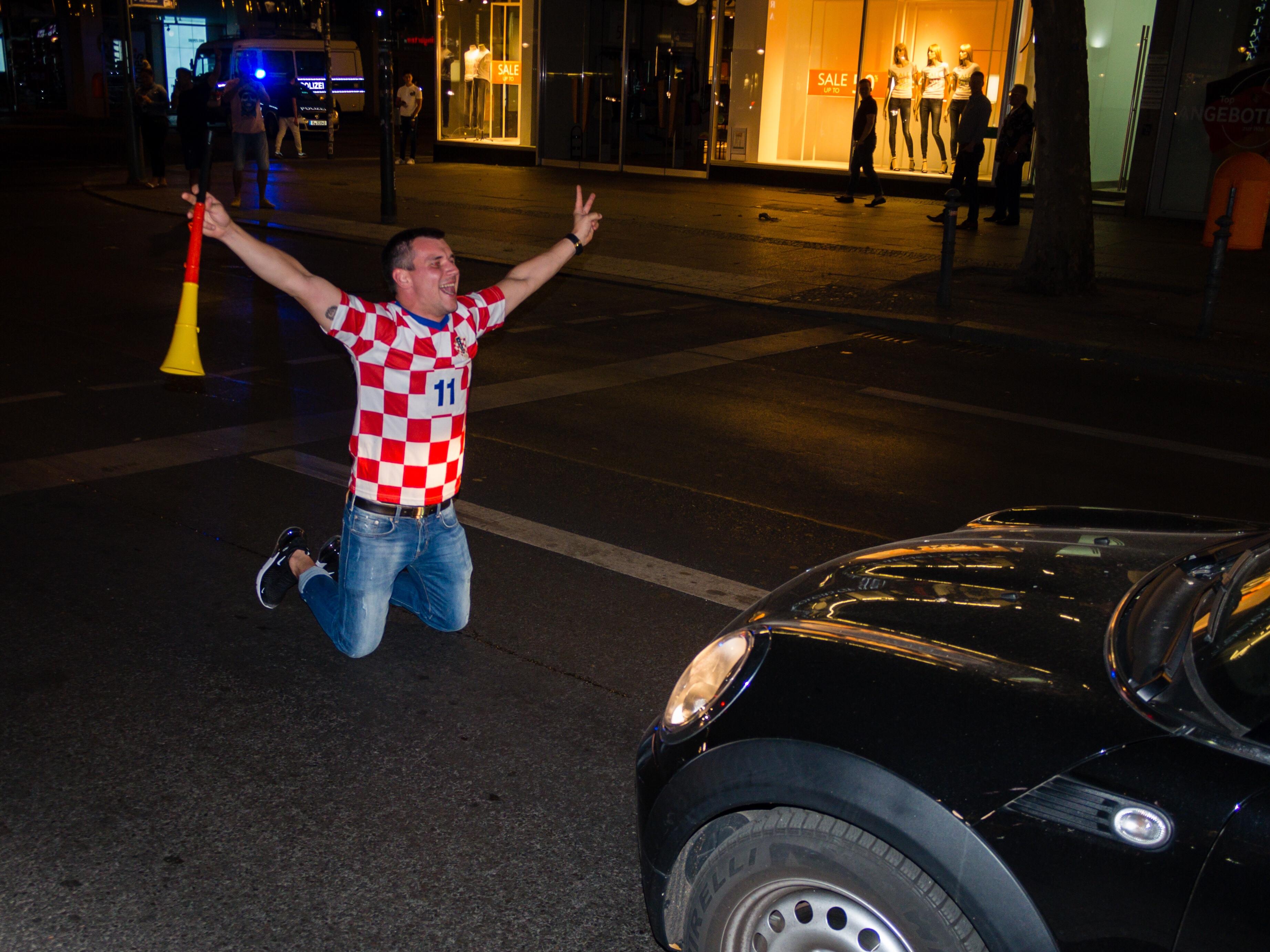 Croatia won, Berlin 2018