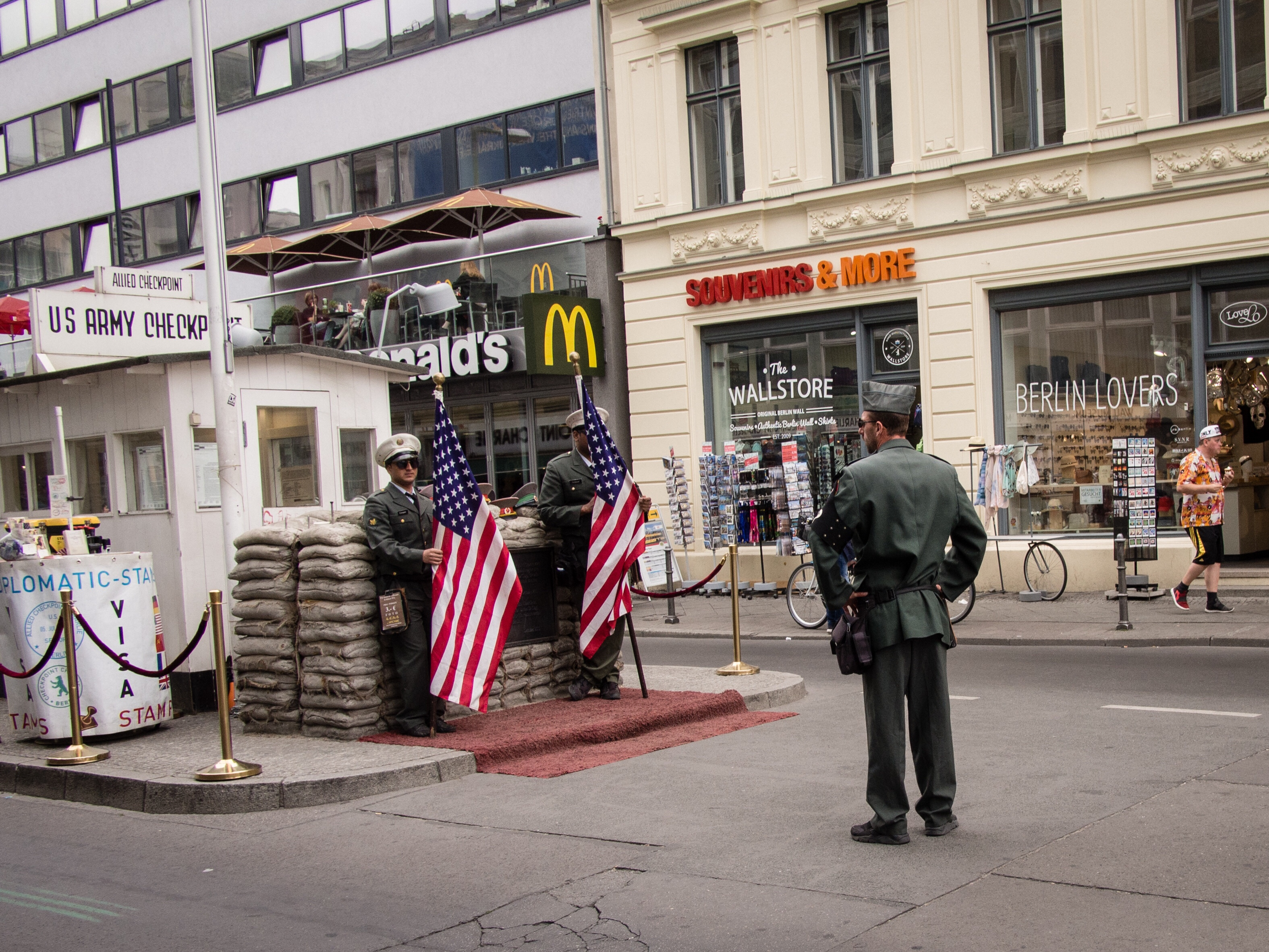 Checkpoint Charlie, Berlin, July 2018