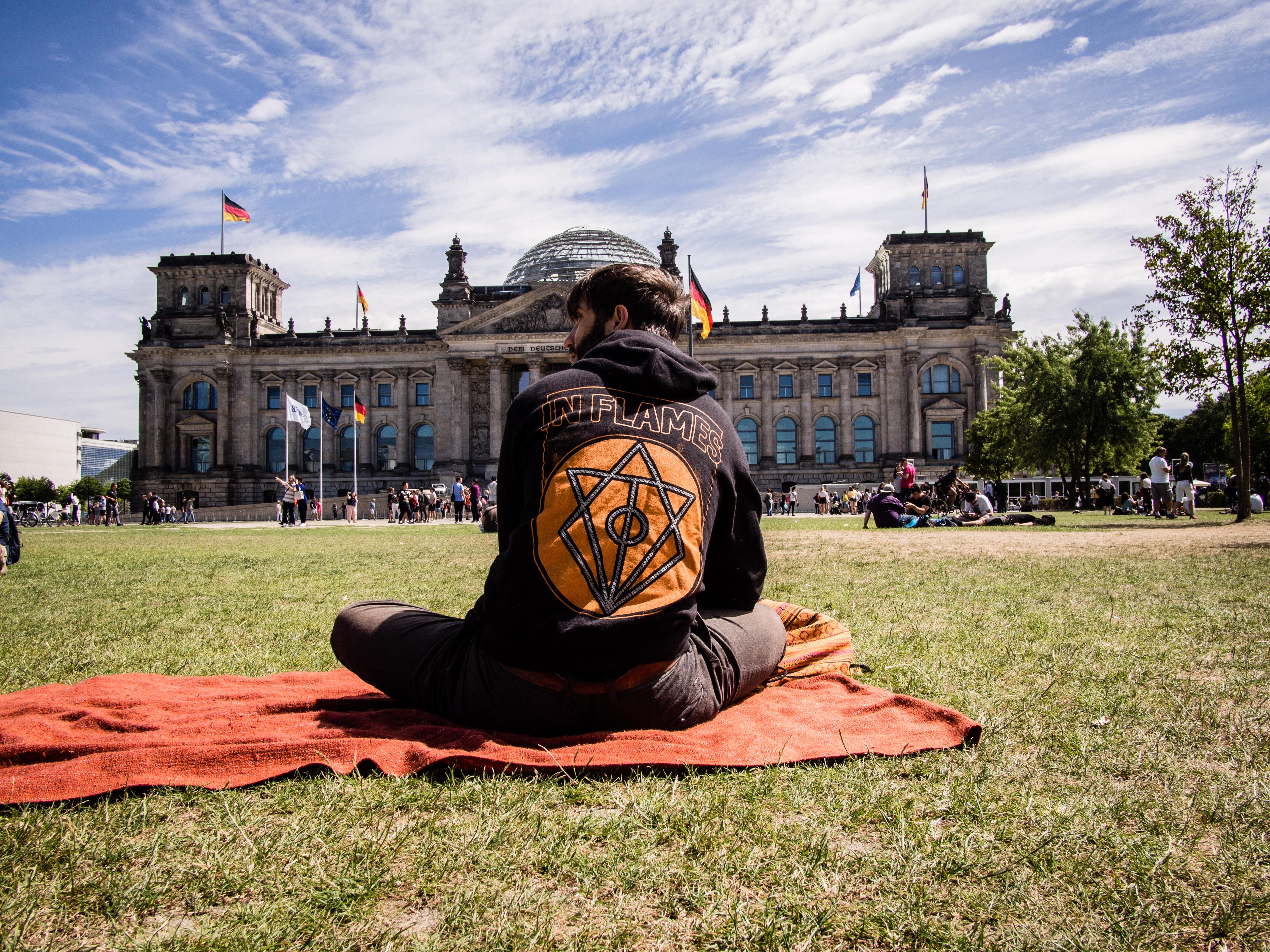 Reichstag, Berlin 2018