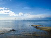 Waddenzee bij West-Terschelling
